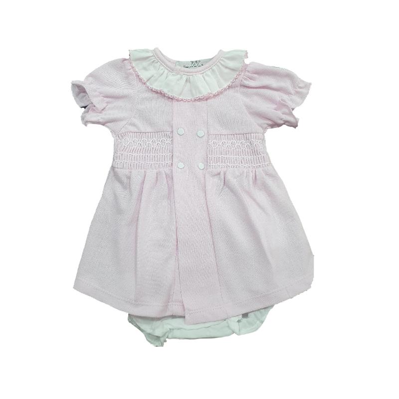 24488 Vestido polo bebé niña