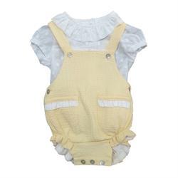 24262 Conjunto yellow bebé unisex