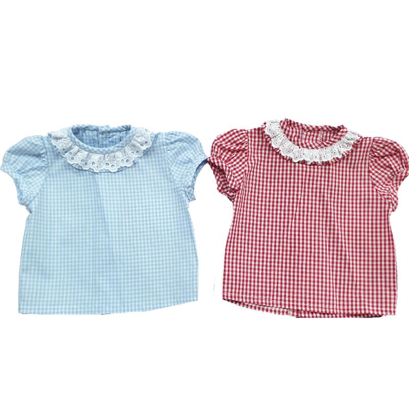 1131 Camisa vichy bebé unsiex
