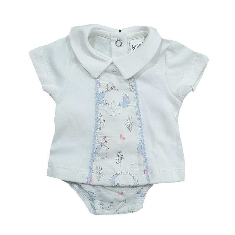 J2107 Conjunto elefantes bebé niño