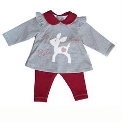 Chándal ciervo 2135 bebé niña