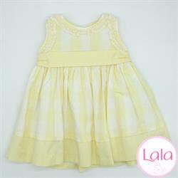 1922841 Vestido cuadros niña